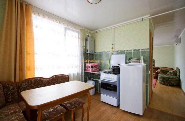 Снять однокомнатный номер с кухней в Анапе