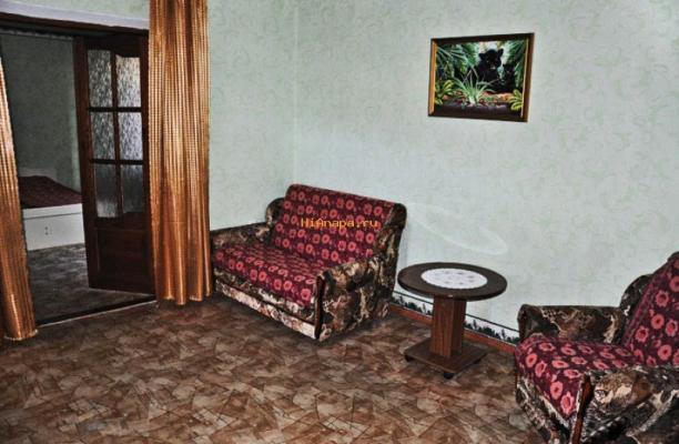 Снять двухкомнатный номер с кухней в Анапе фото